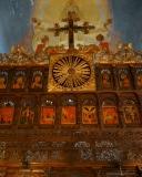 Кръста над царските двери