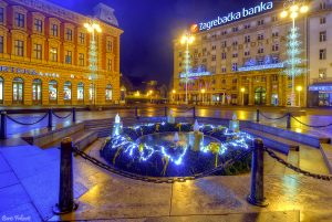 Mandusevac fountain-Zagreb