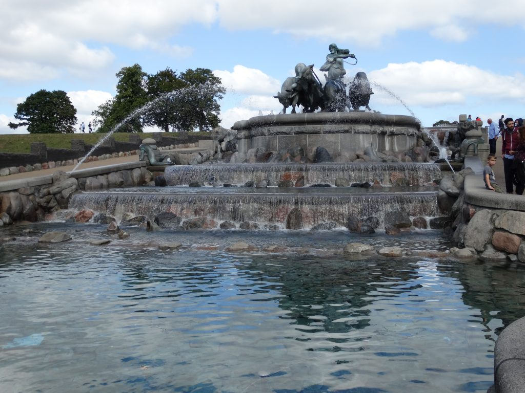 Le Gefion fountain
