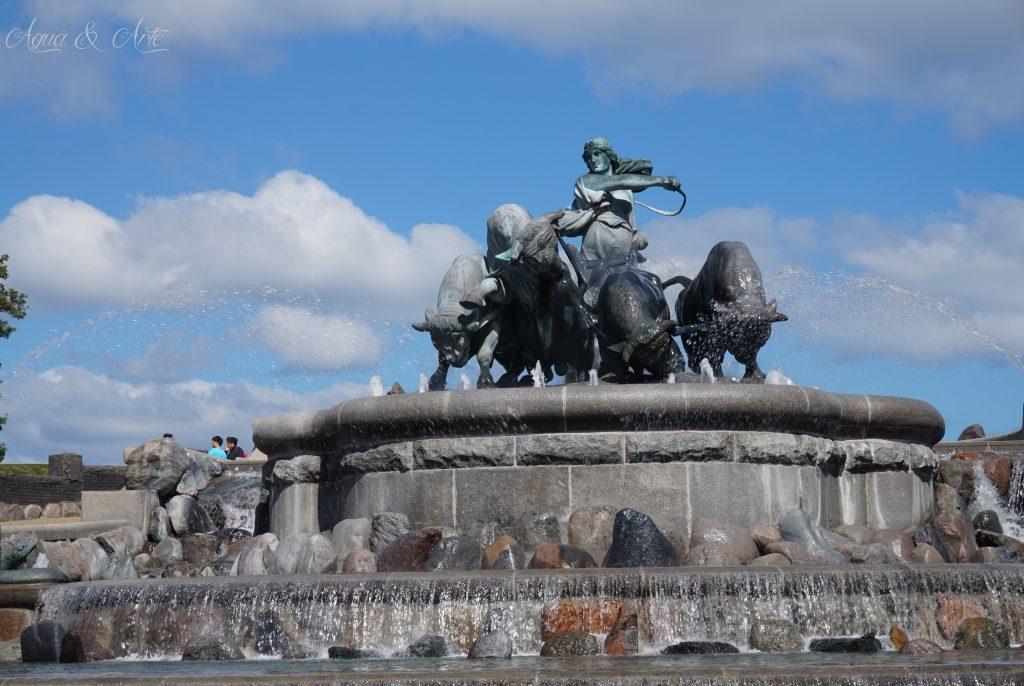 Le Gefion fountain