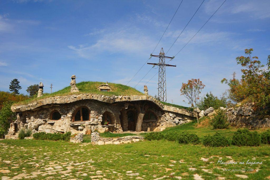 Златният парк - каменната къща