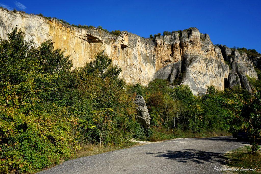 """Природен резерват """"Струпаница"""" - гледка от пътя"""
